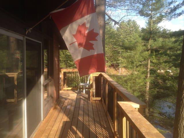 Lac Barnes cottage