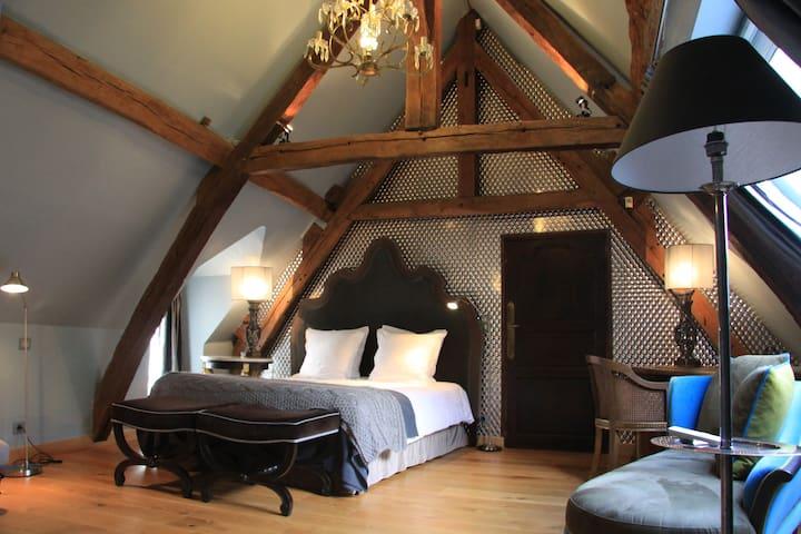 "L'Hibernie: Chambre d'hôte ""Les Grands-Chaillots"" - Rochefort-en-Yvelines - Bed & Breakfast"