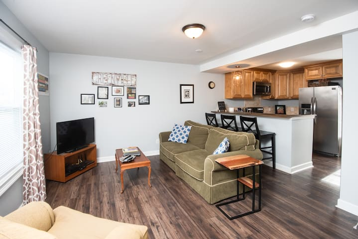 The Blue Rabbit Townhome #1 DT w/free parking