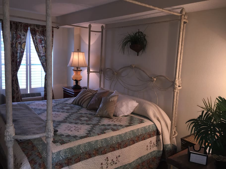 Beautifully Decorated Bedroom with All the Comforts of Home!