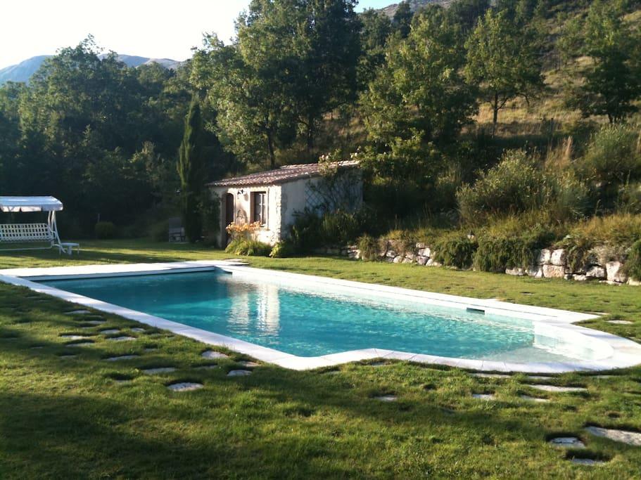Espace piscine - Été