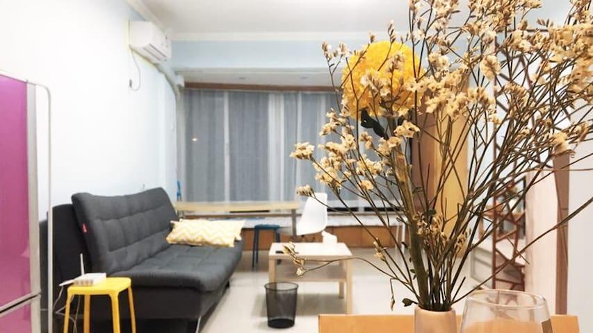 【quiet +convenient +livable】downtown flat.58㎡