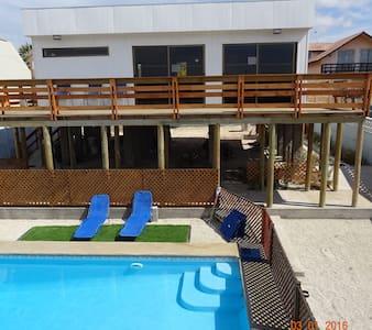 Guanaqueros,  Casa, piscina, sala de juegos - Coquimbo - Dům