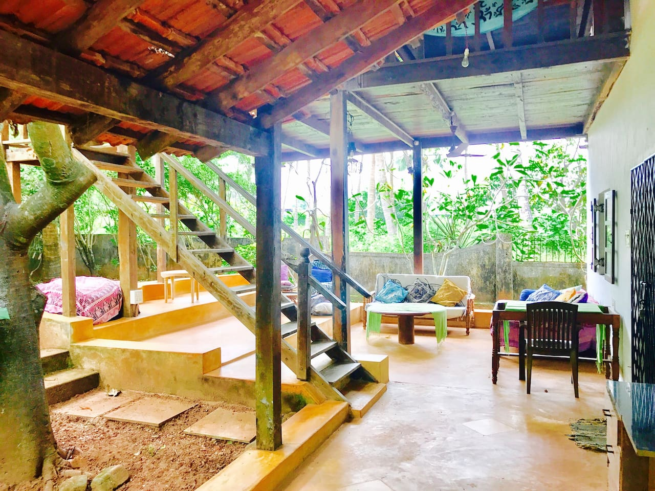 Anjuna 2 Beach House Two Cozy Bungalows Side By Side Near Anjuna Beach Houses For
