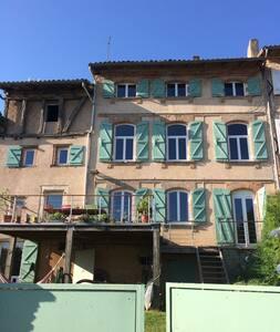 Proche Toulouse - Maison ancienne atypique