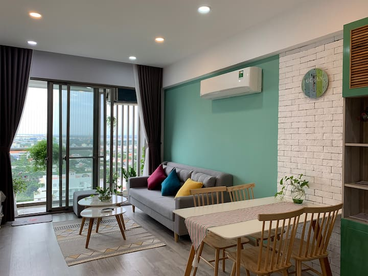 Cozy apartment in District 7 Ho Chi Minh City