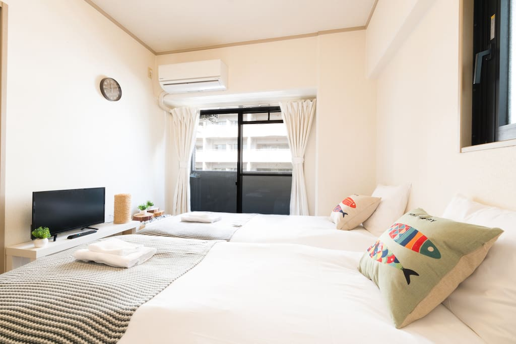 the warmest airbnb in osaka