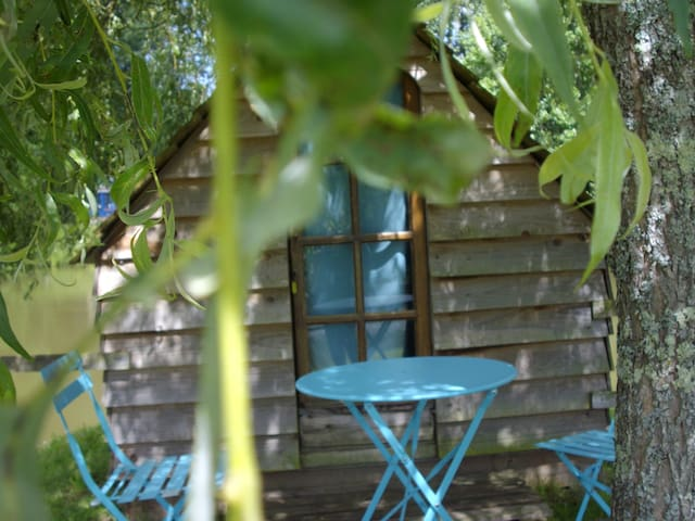 La cabane Robinson sur un îlot