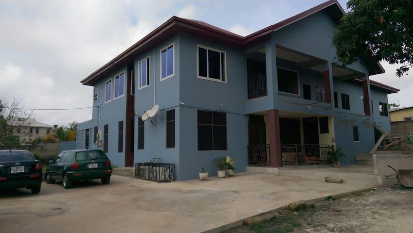 A Typical Ghanaian Hospitable Home setup