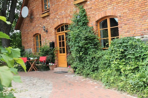 Mansion in Gressow with Terrace, Garden, BBQ, Pond, Bicycles