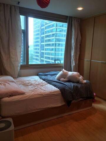 A cozy and luxurious 2 bedroom in Gangnam (江南区最高档) - Gangnam-gu - Wohnung