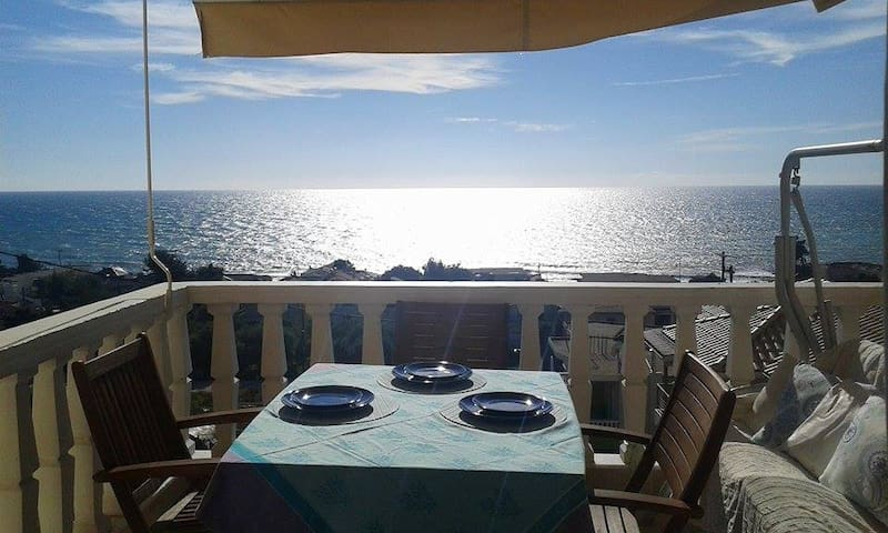 Cozy Sea-view maisonette byIonian - Kanali - Daire