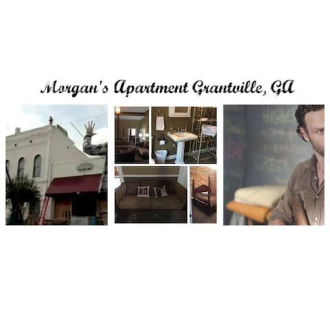 Grantville, GA Apartment for Walking Dead Fans - Grantville - Daire