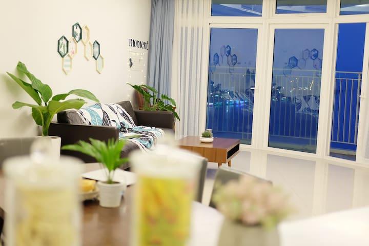 Azura Scenic Panoramic 2BR Apartment - Đà Nẵng - Apartamento