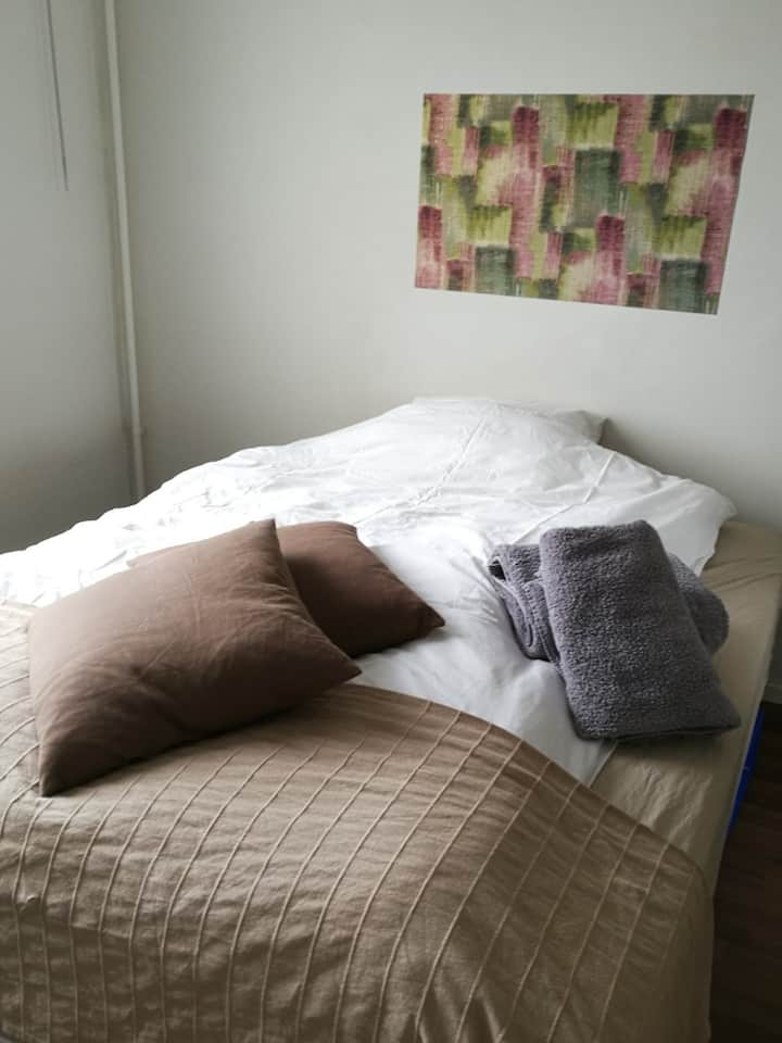 BEDROOM with easy access to Stockholm Central