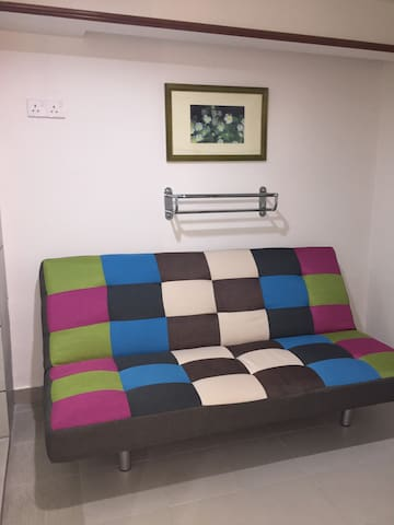 ROOM 2: Single Sofa Bed