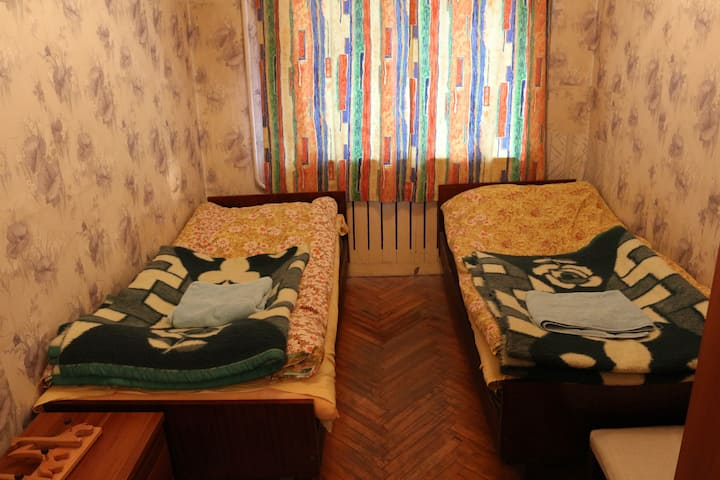 private room for two persons in Mestia