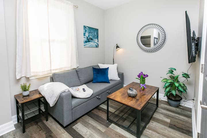 Near Downtown - Bright and Modern 1BR - Free Parking!