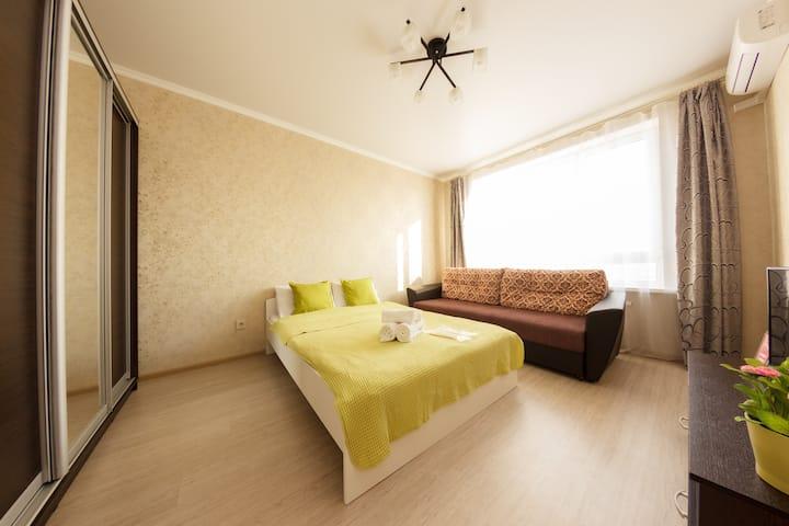 Уютная квартира на 20 этаже