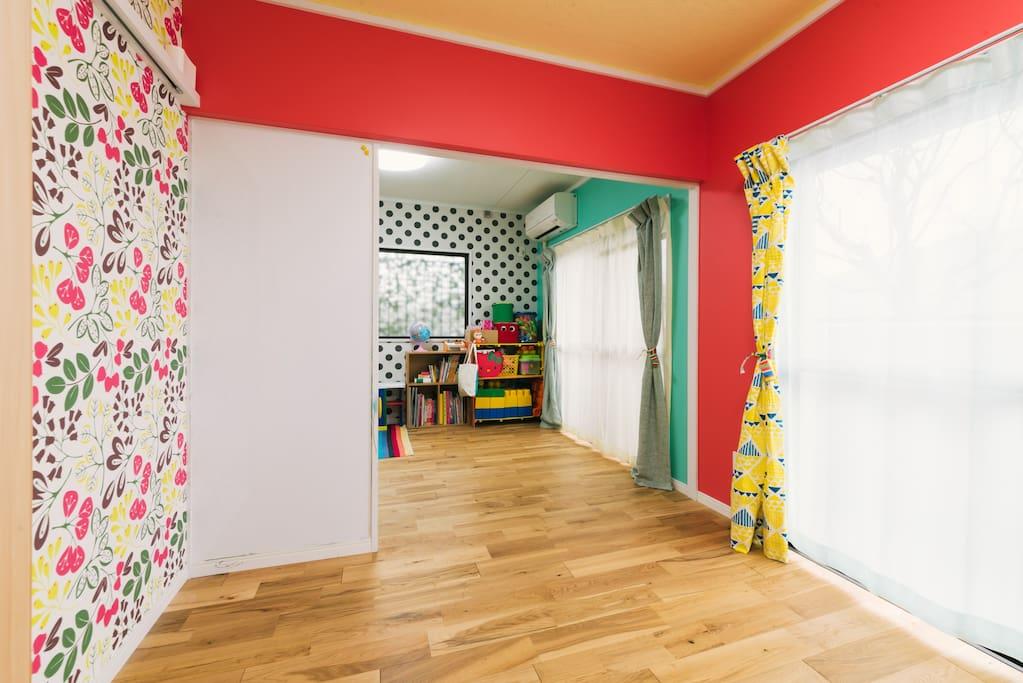 Provides a private room