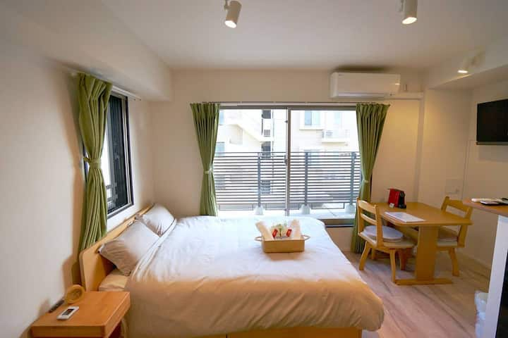 New Double Room in Tokyo: Skytree & Asakusa 602