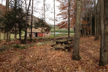 Home on beautiful 80 acre Vermont homestead.