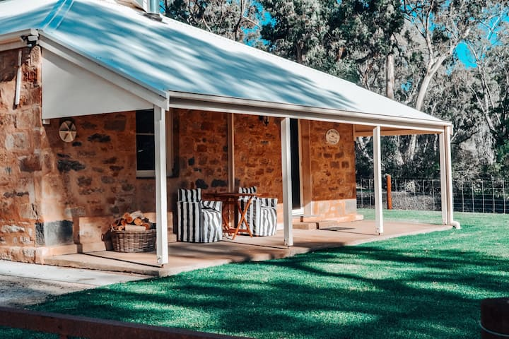 Sir Walter's Cottage at Hughes Park, Clare Valley