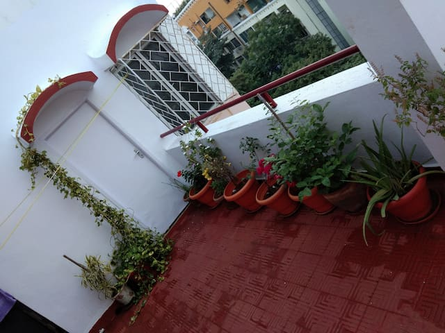 Another view of the Veranda