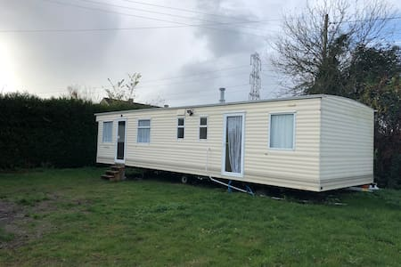 Stationary Caravan for a long or short term rent.