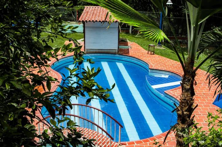 Hotel Campestre el Portón de San Gil.