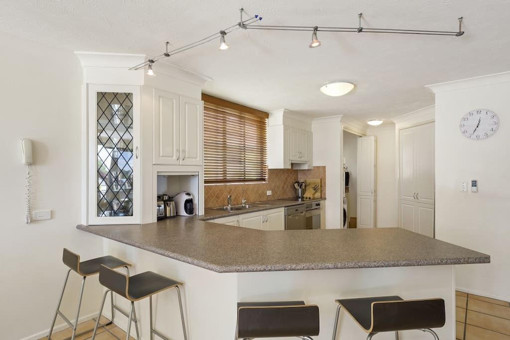 Kitchen - with stainless steel appliances