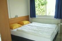 3 slaapkamers met heerlijke boxsprings