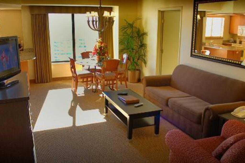 Polo Suites & Villas Living Room