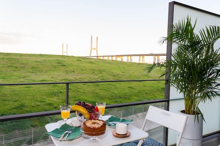 Parque das Nações River Apartment - W/Balcony