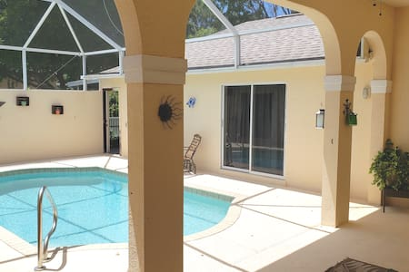 Pool cabana with no cleaning fee or minimum stay!