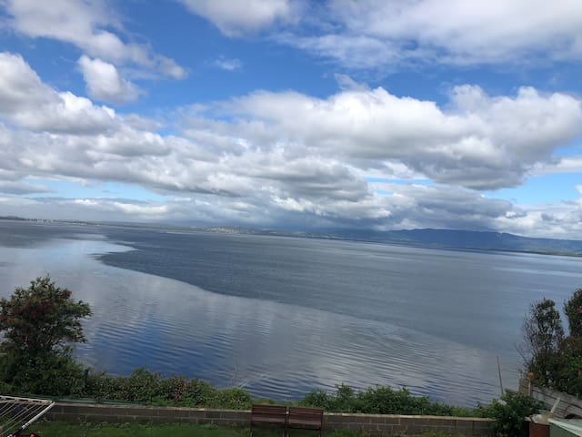 enjoy views of the lake and accommodation