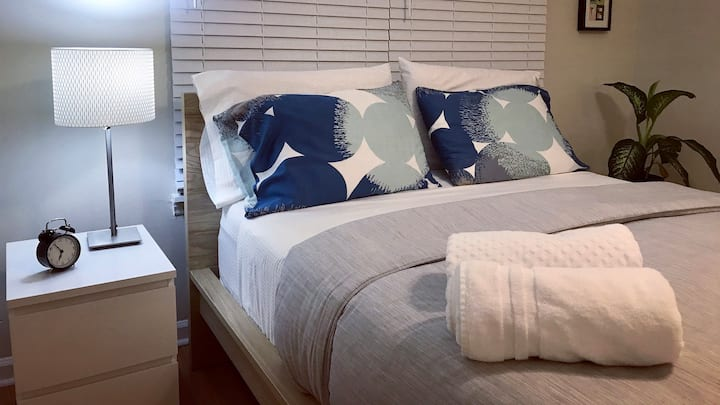 ☆Spacious room+BA in South Charlotte☆