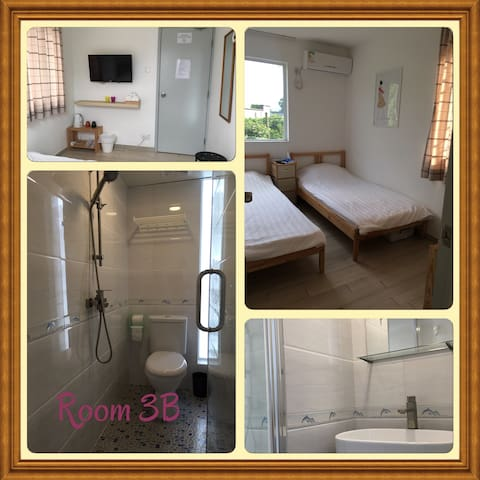 東涌小村山景雅緻雙人房 Cozy twin bed room near airport - 東涌 - House