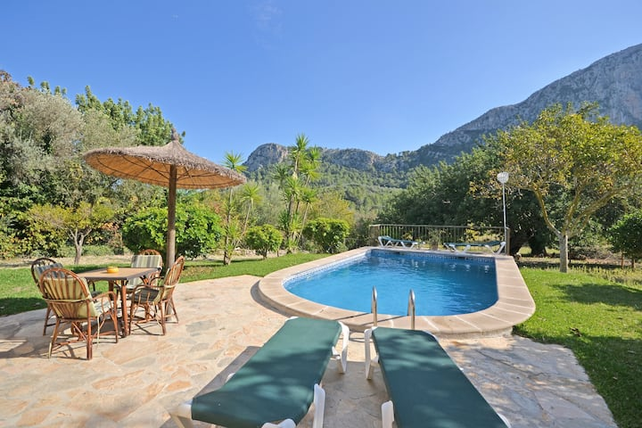 CA NA EVA - Country house with swimming pool and panoramic views in Pollensa