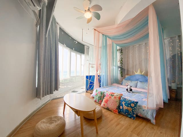 「Sea View Tatami Room」