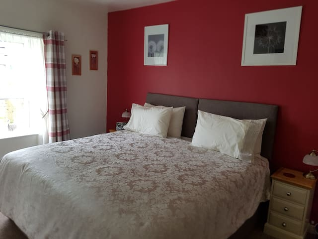 Main bedroom which can be two singles also