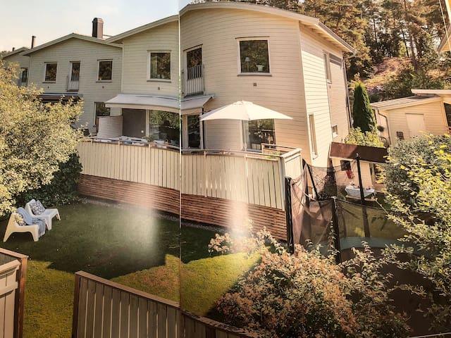 Nice family house in Täby