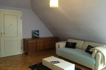 Zentralliegende, gemütliche Wohnung - Hamburg - Apartment