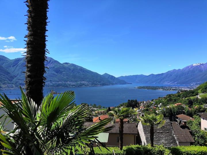 Casa Andrea Gordemo (Gordola) Tessin Lago Maggiore