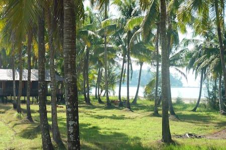 Dutch Beach Bungalow on private beach near Ngapali