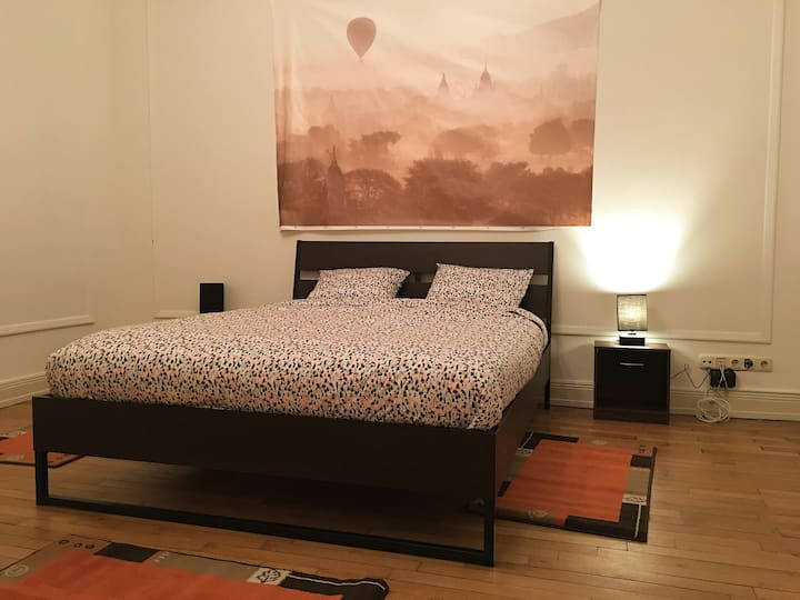 Fine Stucco Art Bedroom In Limpertsberg