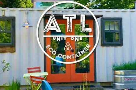 Tiny Eco Friendly Modern Shipping Container Unit 1