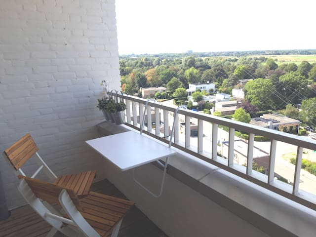 Modern apartment with the best view of Den Bosch