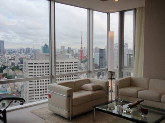 Luxury High-rise Condominium!Tamachi,Tokyo/Wifi - Minato-ku
