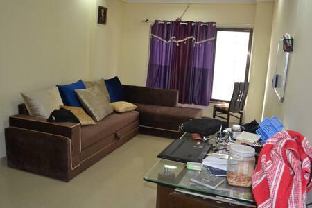 Private room with all amenities across Powai Lake - Mumbai - Lägenhet